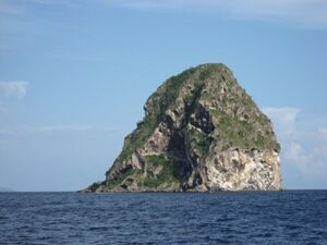Diamond Rock in Martinique
