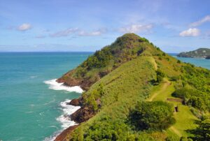 Pigeon Island in St. Lucia