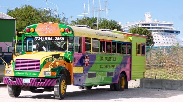 Party Bus in St. Maarten