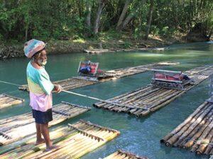 Rio Grande River in Jamaica