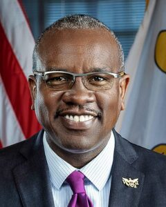 Alber Bryan US Virgin Islands Governor
