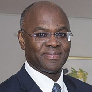 Eugene Holiday Governor of St. Maarten