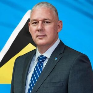 Allen Chastanet Prime Minister of St. Lucia