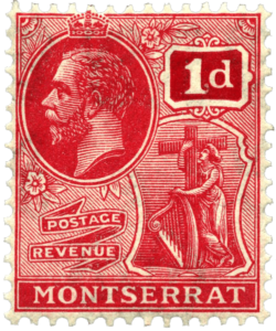 Stamp from Montserrat