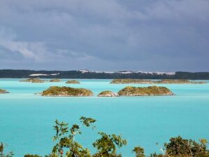 Chalk Sound in Turks and Caicos