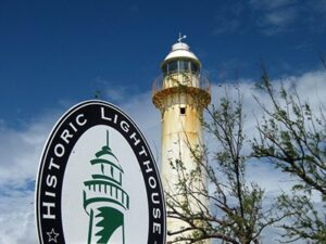 Grand Turk Lighthouse in Turks & Caicos