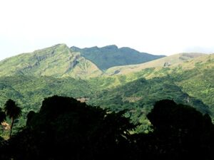 La Soufriere in St. Vincent & the Grenadines