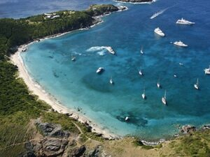 Colombier Beach in St. Barthelemy