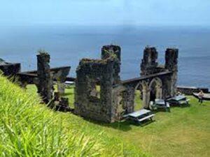 Brimstone Hill in St. Kitts & Nevis