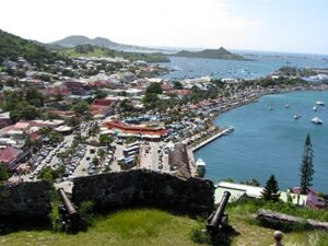 Fort Louis in St. Martin