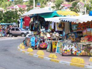 Marigot Market in St. Martin