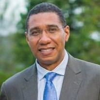 Andrew Holness Prime Minster of Jamaica