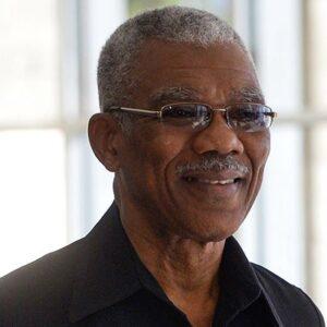 David A Granger President f Guyana