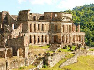 Palace of Sans-Souci in Haiti