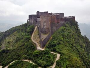 Citadelle La Ferriere in Haiti