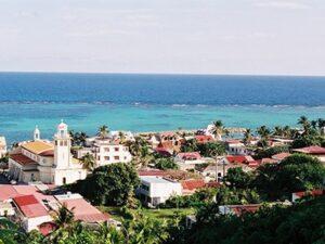 Marie-Galante Island in Guadeloupe
