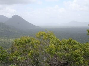 Kanuku Mountains in Guyana