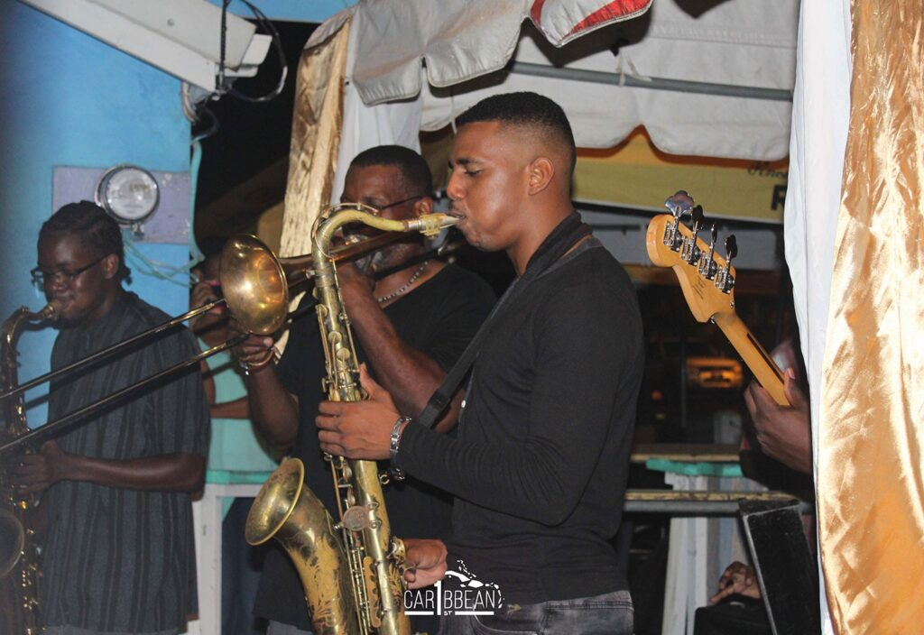 Live band at the St. Lucia Food & Rum Festival
