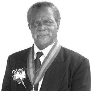 Sir Dunstan St. Omer Caribbean1st Honouree from St. Lucia